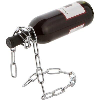 Trademark Innovations 1 Bottle Tabletop Wine Rack