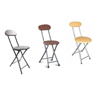 above edge metal folding chair reviews wayfair