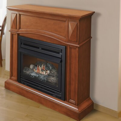 Pleasant Hearth Compact Vent Free Dual Fuel Gas Fireplace