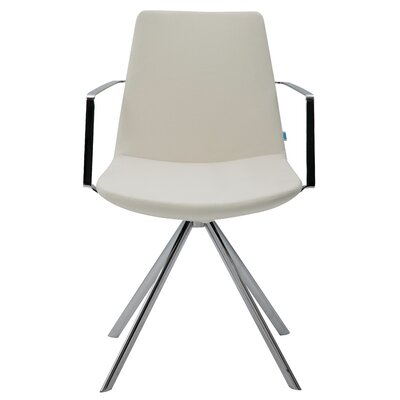 B&T Design Pera Elips Eco Leather Arm Chair