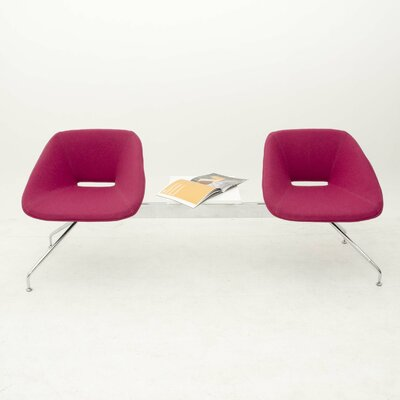 B&T Design Red Two Seat Be..