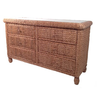 ElanaMar Designs Miramar 6 Drawer Dresser