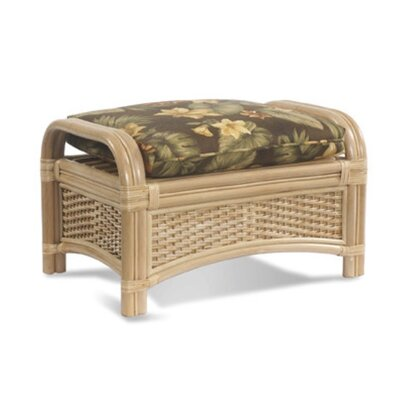 ElanaMar Designs Tropical Breeze Ottoman