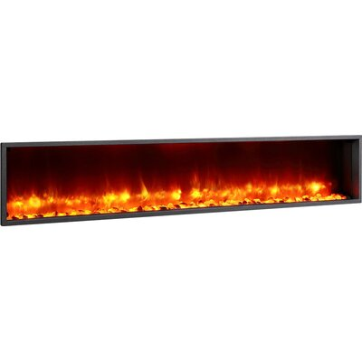 dynasty 79 built in led wall mount electric fireplace