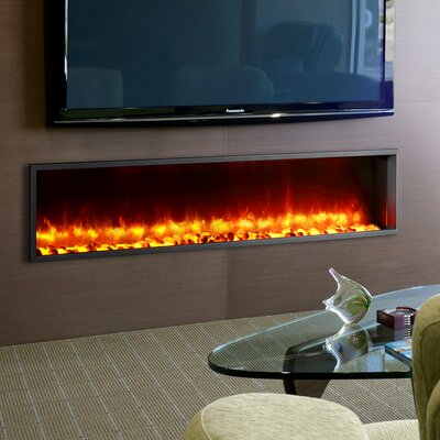 dynasty 63 built in led wall mount electric fireplace