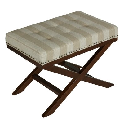 Cortesi Home Kayla Bench Ottoman
