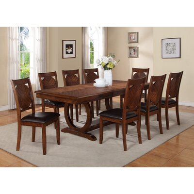World Menagerie Tavera 9 Piece Dining Set