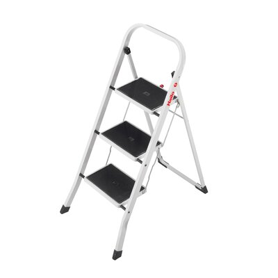 Hailo Usa Inc K20 3 Step Steel Step Stool With 330 Lb