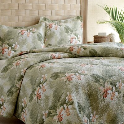 Tommy Bahama Bedding Tommy Bahama Tropical Orchid 3 Piece