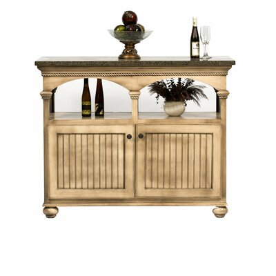 Eagle Furniture Manufacturing American Premiere Kitchen Island with Butcher Block Top