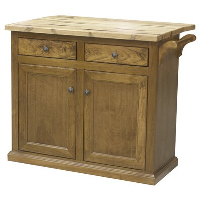 Eagle Furniture Manufacturing Kitchen Cart with Butcher Block Top