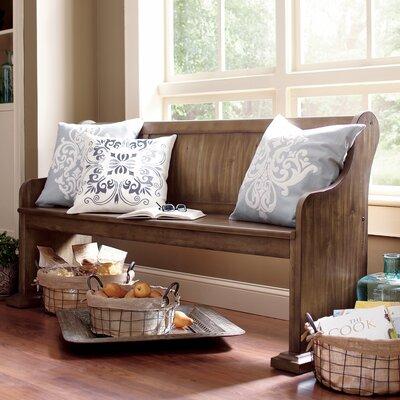 Magnussen Furniture Karlin Wood Kitchen Bench