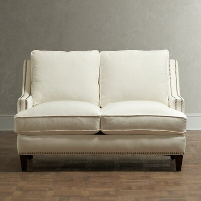 Birch Lane Larson Nailhead Trim Loveseat