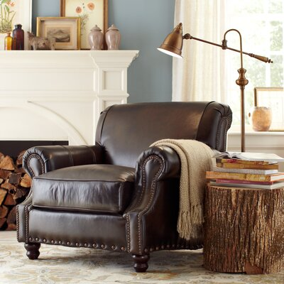 Birch Lane Landry Leather Chair