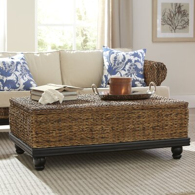 Birch Lane Esmont Woven Coffee Table