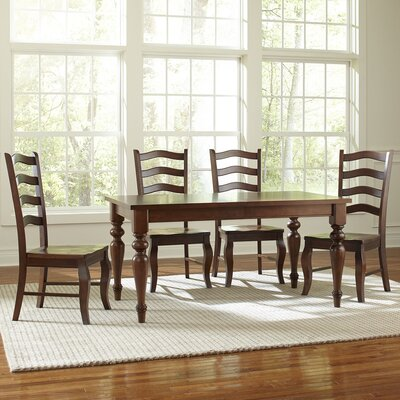 Birch Lane Reagan Extending Custom Dining Table, 42 x 60 inches