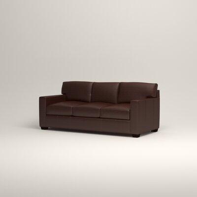 Birch Lane Pratt Leather Sofa Amp Reviews Wayfair