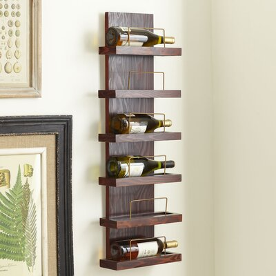 Birch Lane Cooperstown 6-Bottle Wine Rack