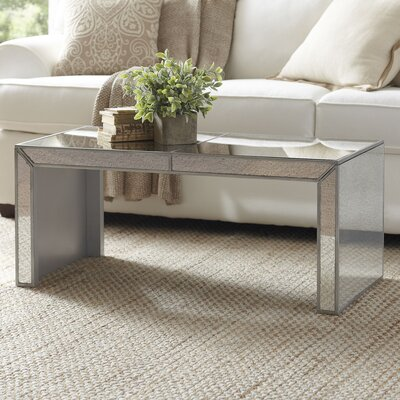 Birch Lane Elliott Mirrored Coffee Table