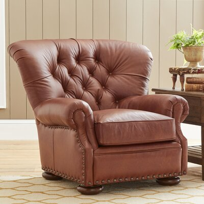 Birch Lane Miller Leather Chair