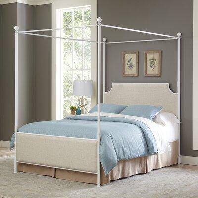 birch lane williston canopy bed reviews wayfair. Black Bedroom Furniture Sets. Home Design Ideas