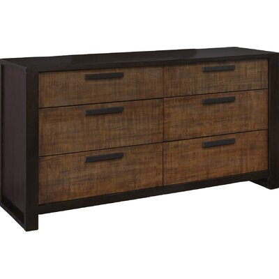 Casana Furniture Company Axel 6 Drawer Dresser