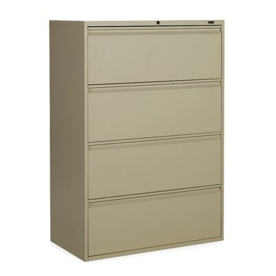 Global Total Office 1900 Plus 4-Drawer La..