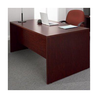 Global Total Office Genoa Executive Desk with Double Pedestal Image