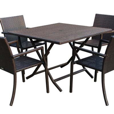 Jeco Inc. 5 Piece Dining Set