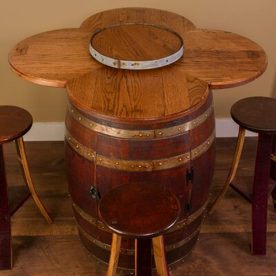 Napa East Collection Wine Barrel 6 Pie..