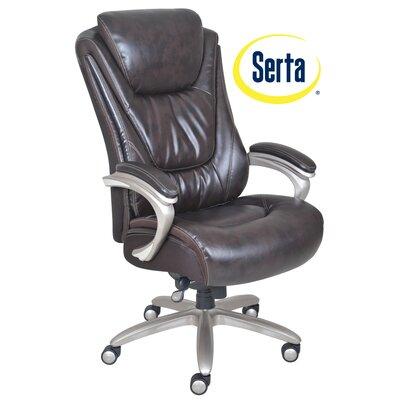 Serta At Home Blissfully High Back Executive Chair Reviews Wayfair