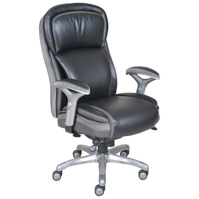 Serta At Home Blissfully High Back Manager Executive Chair AIR Technology A