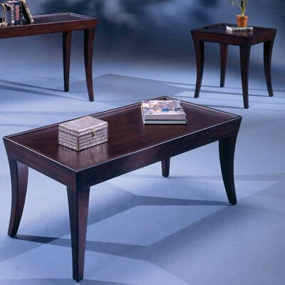 Bernards Versaille 3 Piece Coffee Table Set