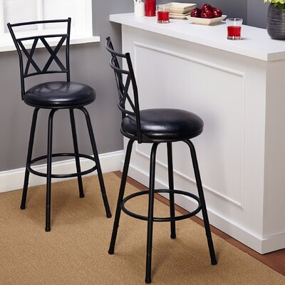 TMS Seneca Swivel Bar Stool (Set of 2)