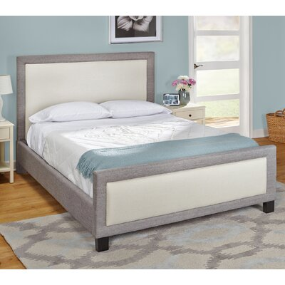 TMS Queen Upholstered Platform Bed