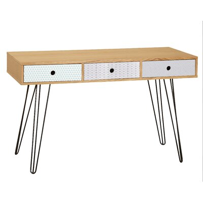 Brayden Studio Coleford Geometric Writing Desk