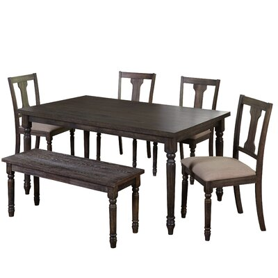 One Allium Way Ines 6 Piece Dining Set