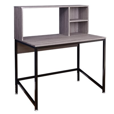 Mercury Row Cawthon Computer Desk with Hu..