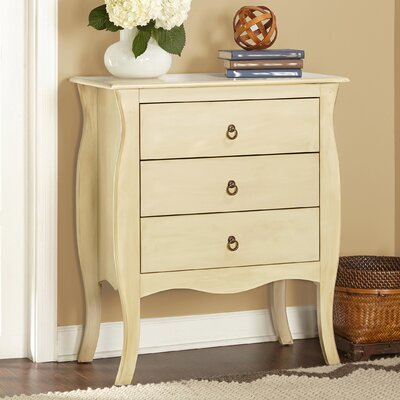 Lark Manor Antonne 3 Drawer End Table Image