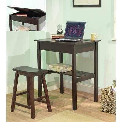 TMS Lincoln 2 Piece Study Writing Desk Set