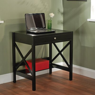 Charlton Home Chad 1 Drawer Writing Desk