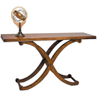Reual James Regency Console Table