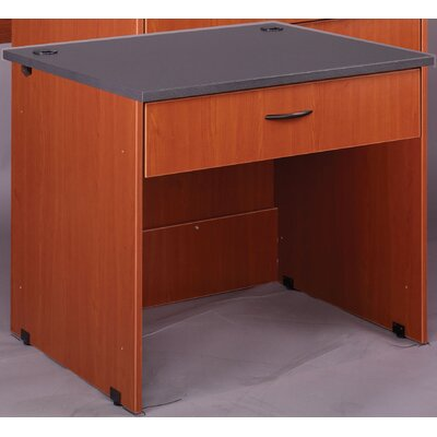 Stevens ID Systems Writing Desk with Drawer and Locks