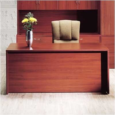 High Point Furniture Hyperwork Single Pedestal Executive Desk