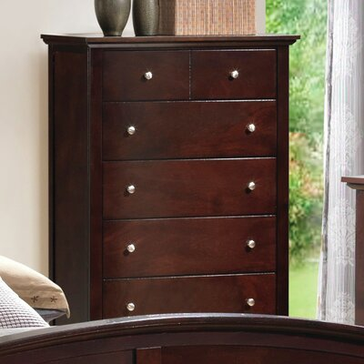 Just Cabinets Furniture and More Brooks 5 Drawer Chest