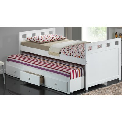 Broyhill Kids Breckenridge Twin Captain Bed with Trundle and Storage