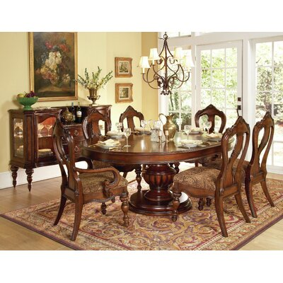 Astoria Grand Drew Extendable Dining Table