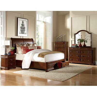 Woodhaven Hill Karla Queen Platform Customizable Bedroom Set