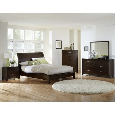 Woodhaven Hill Starling Platform Customizable Bedroom Set