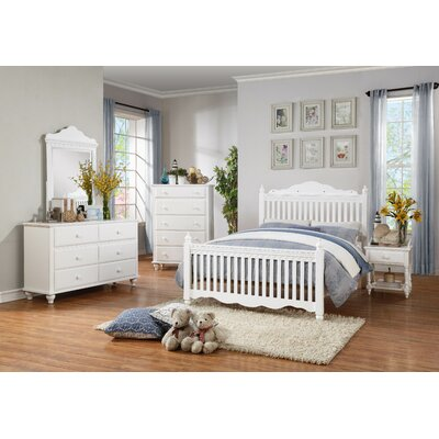Woodhaven Hill Emmaline Twin Panel Customizable Bedroom Set